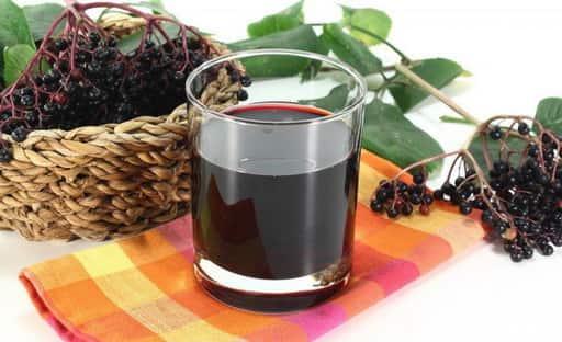 Сок из чёрной бузины
