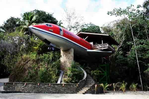 Коста-Рика - отель самолёт