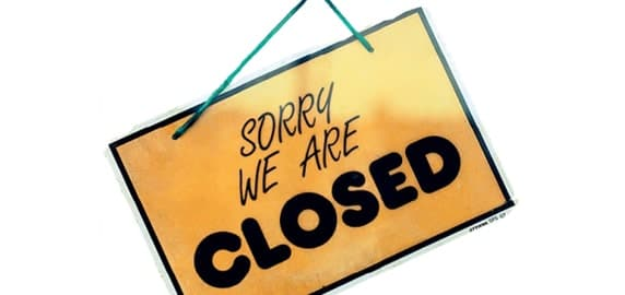 Закрытие магазинов
