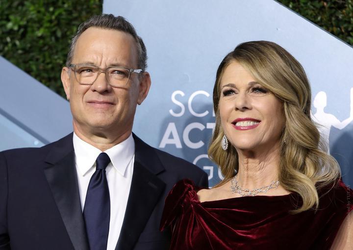 Том Хэнкс и его жена Рита Уилсон